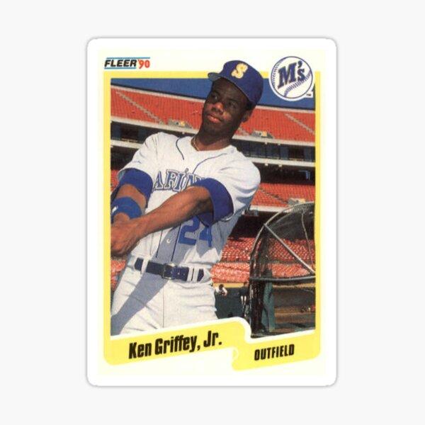 Ken Griffey Jr. Seattle Mariners Card Art Sticker