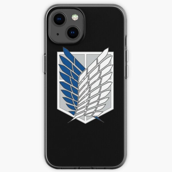 Attack on Titan Scouts Logo iPhone Soft Case