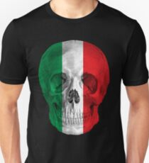 Albinus Skull 08 - Cappuccino Fairy Tale - Black Background Unisex T-Shirt
