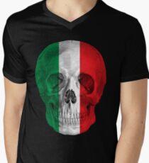Albinus Skull 08 - Cappuccino Fairy Tale - Black Background Men's V-Neck T-Shirt