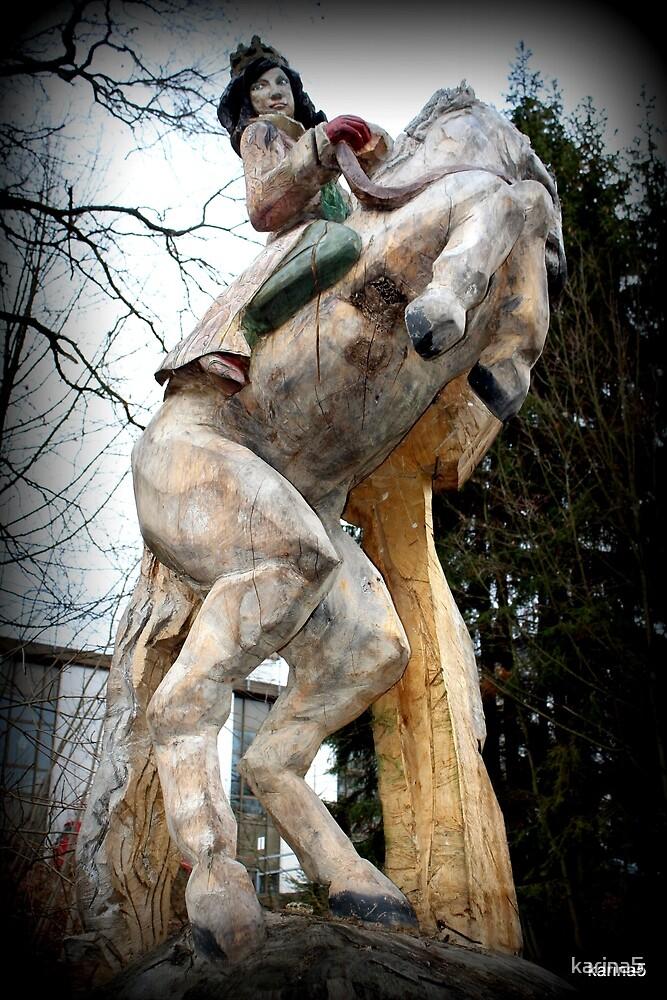 Queen on Horseback by karina5