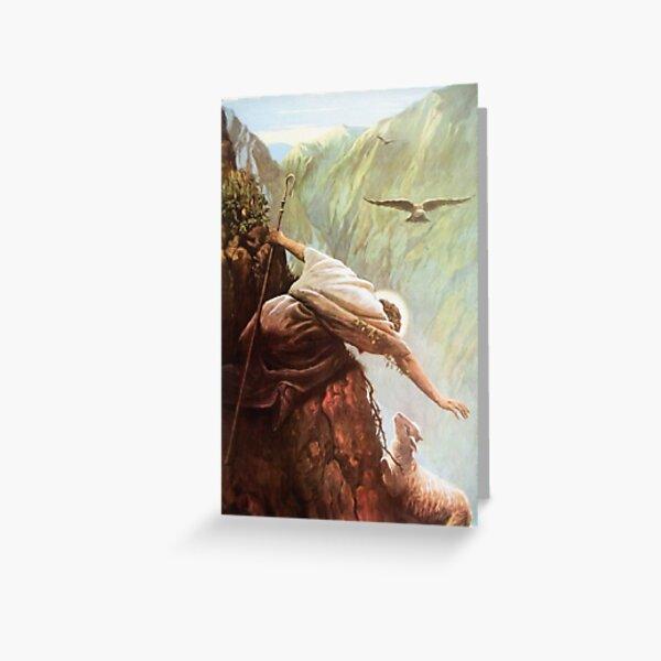 The Lost Sheep Luke 15:3-7 Greeting Card