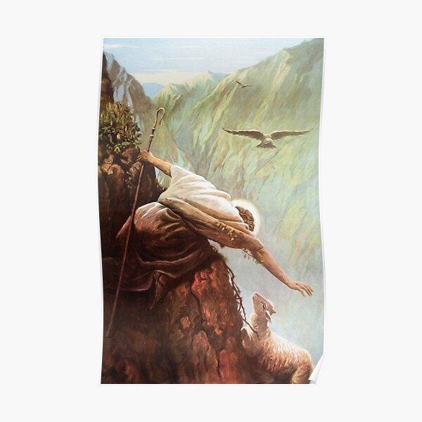 Le mouton perdu Luc 15: 3-7 Poster