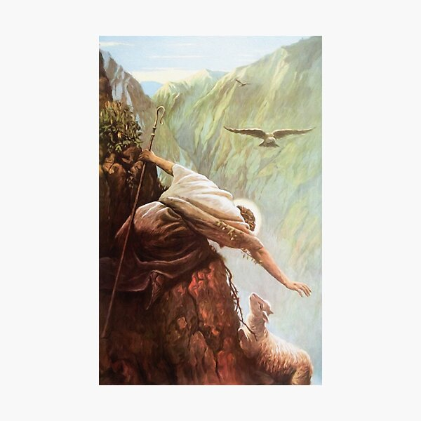 The Lost Sheep Luke 15:3-7 Photographic Print