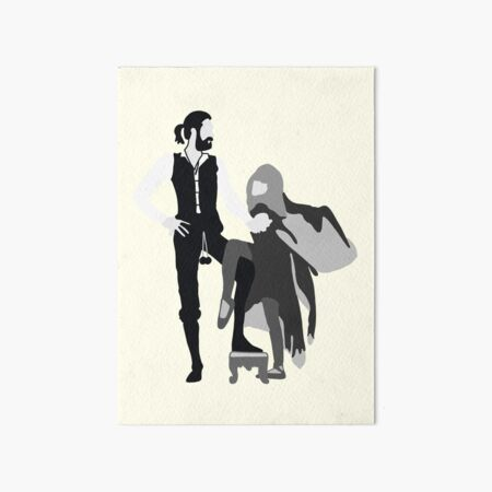Rumors  Art Board Print