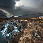 Isle of Skye: Brooding Glen by Angie Latham