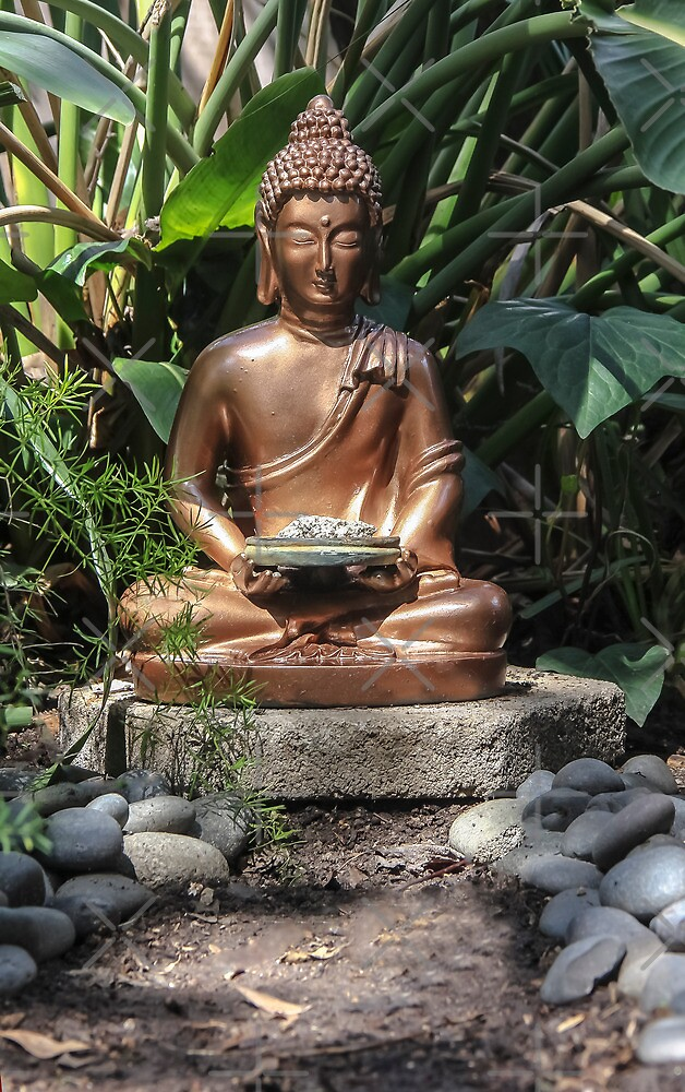 Shakyamuni Buddha by Heather Friedman
