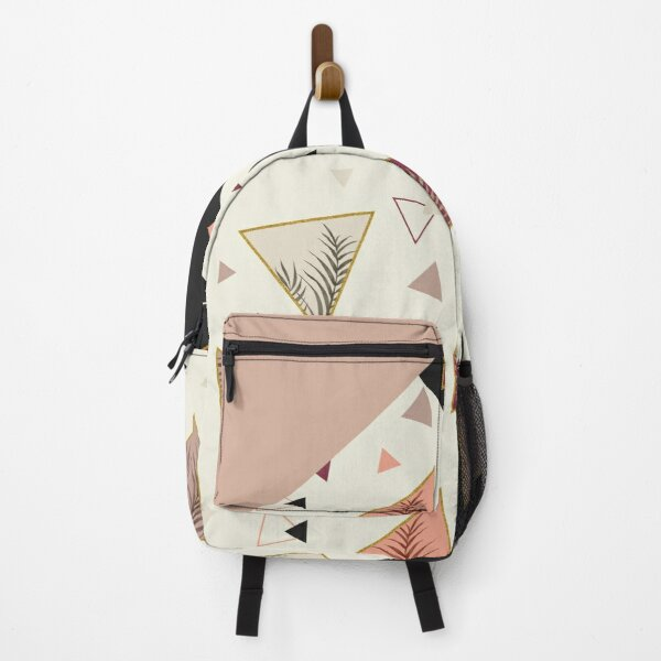Triangles&Palms #redbubble #decor #buyart Backpack