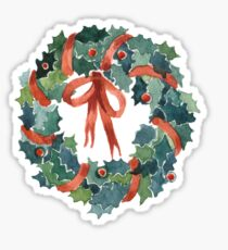 X-mas wreath Sticker