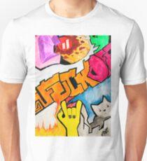 Fuck off, rock, hard, trap, heand,  Unisex T-Shirt