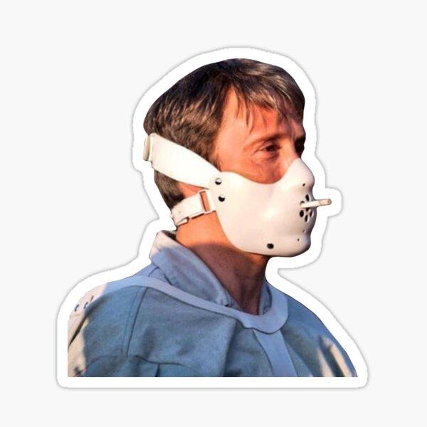 Hannibal Lecter / Mads Mikkelsen Sticker
