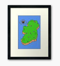 Mario's Emerald Isle Framed Print