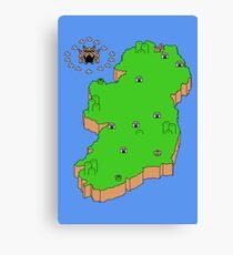 Mario's Emerald Isle Canvas Print