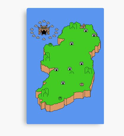 Mario's Emerald Isle Canvas Print