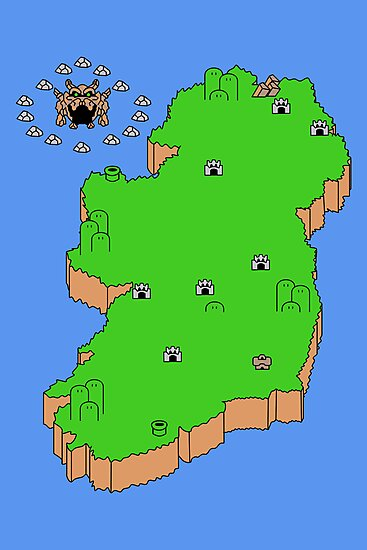 Mario's Emerald Isle by Placeholder Tees