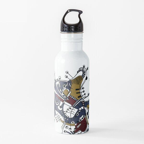 Primavera abstracta Botella de agua