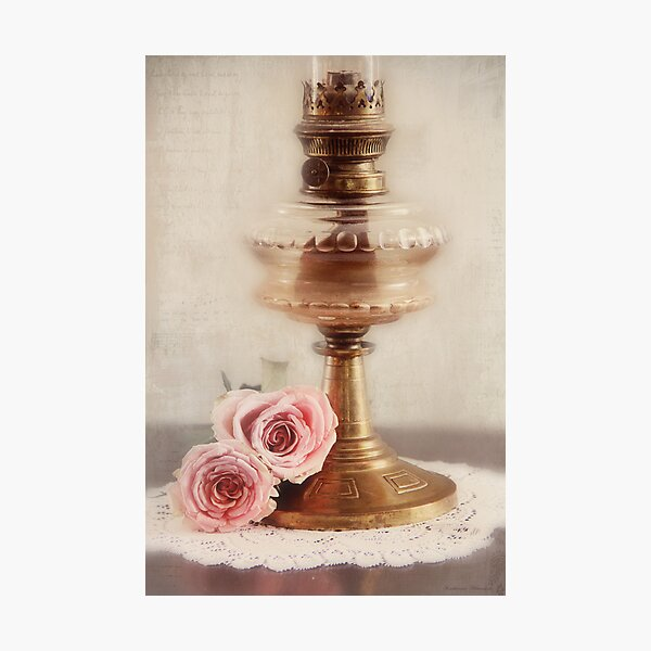 Light and roses Photographic Print