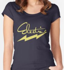electric 2 Women's Fitted Scoop T-Shirt