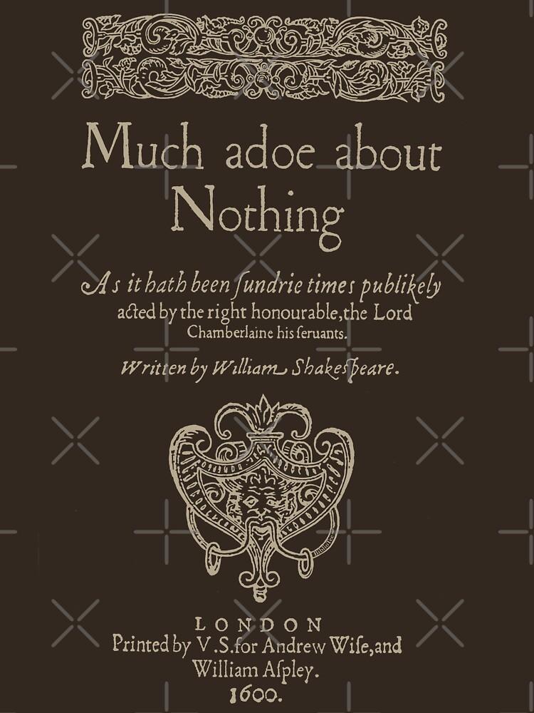 Shakespeare, Mucho ruido y pocas nueces. Versión de ropa oscura de bibliotee