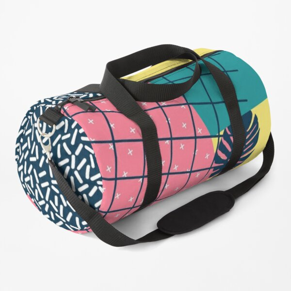 90s Monstera #redbubble #decor #buyart Duffle Bag