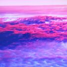 Above the Clouds at Sunset by artqueene