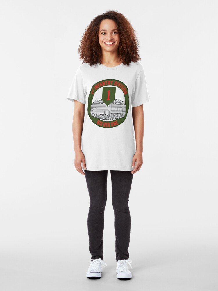Alternate view of 1st Infantry CAB Slim Fit T-Shirt