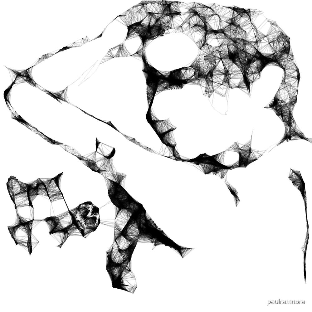 Female Nude -(170313)- Digital art/Program: The Scribbler by paulramnora