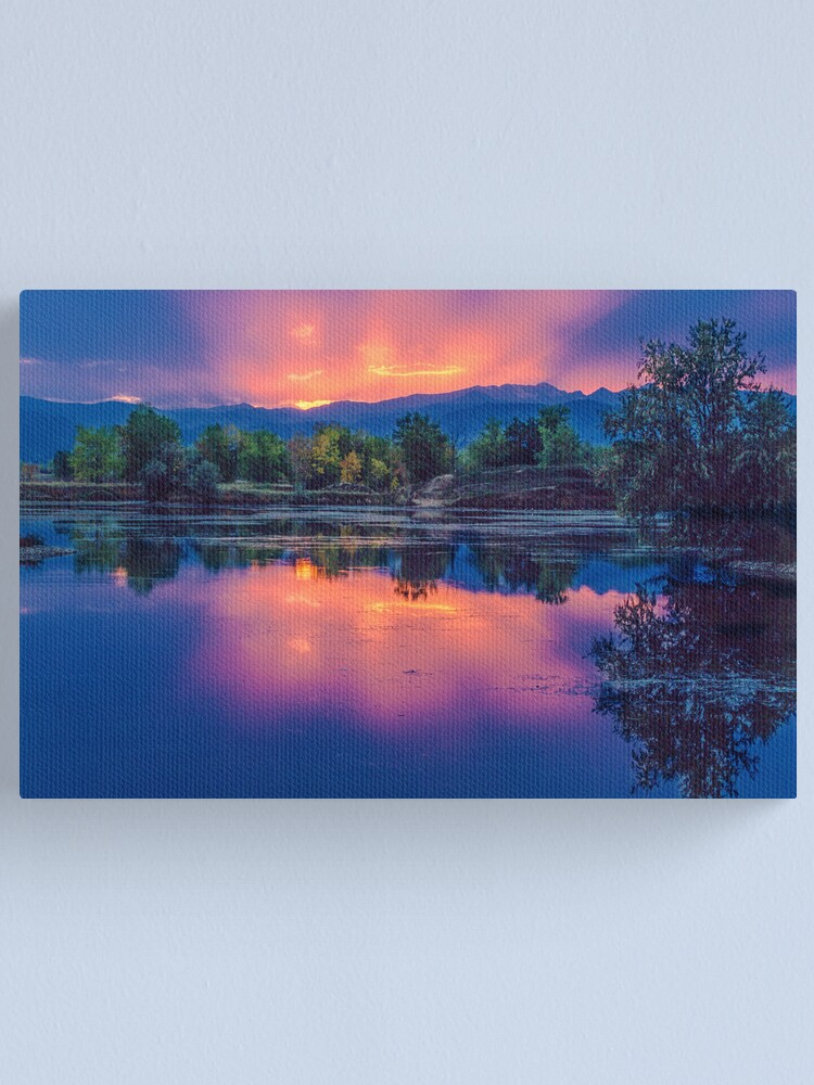 Alternate view of The Magic Of Light Canvas Print
