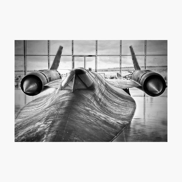 SR 71 Blackbird Photographic Print