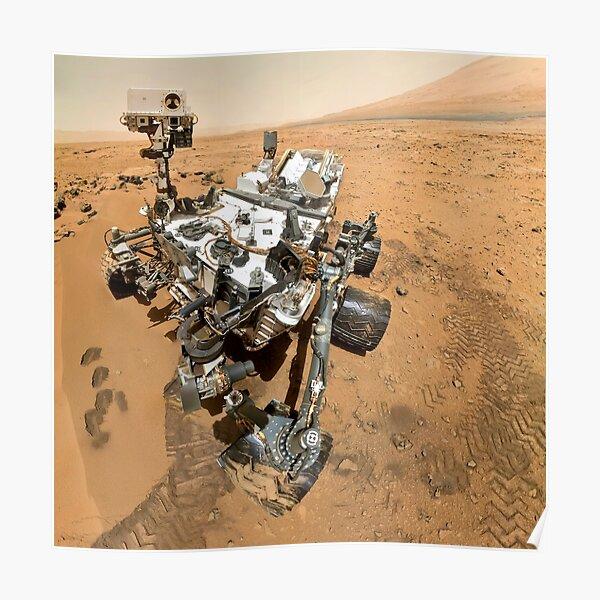 NASA's Curiosity Self-Portrait Poster
