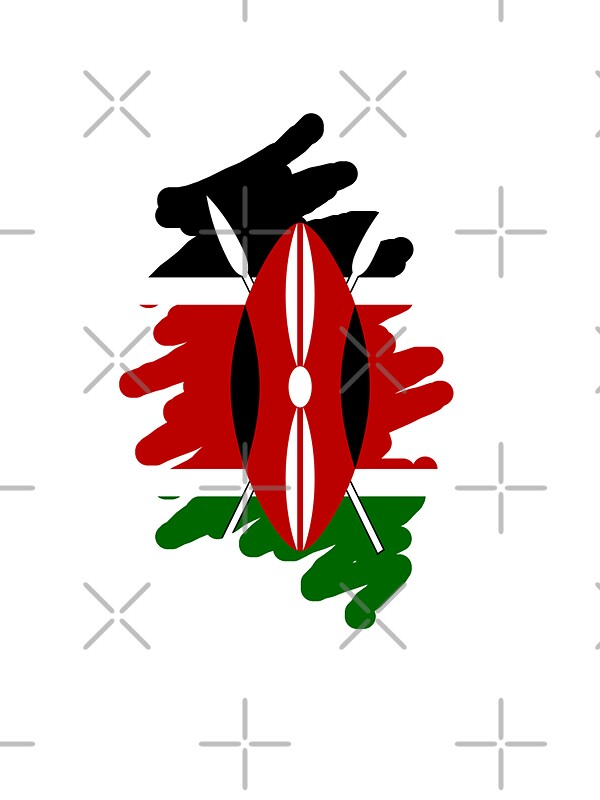 Kenya flag by litu