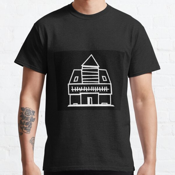 Black and White Pop Punk House Classic T-Shirt
