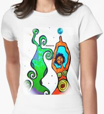 """""""Namaste"""" for wear! Womens Fitted T-Shirt"""