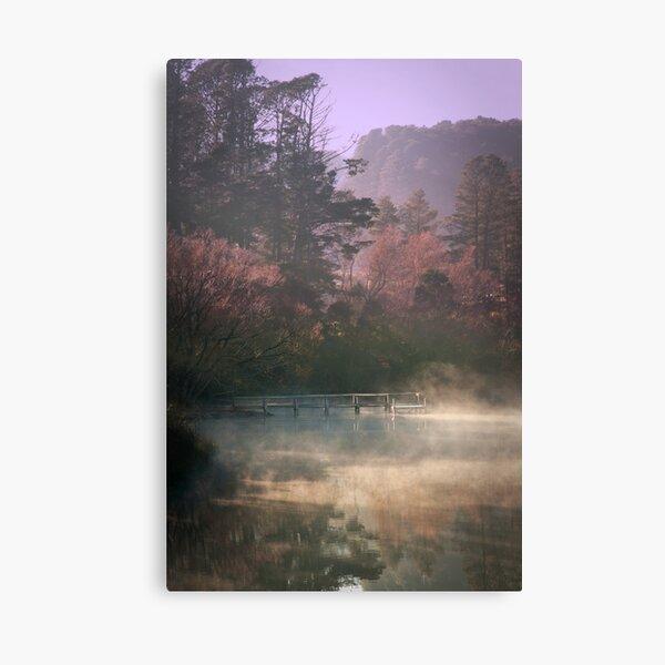 Daylesford Lake - Early Mist Canvas Print