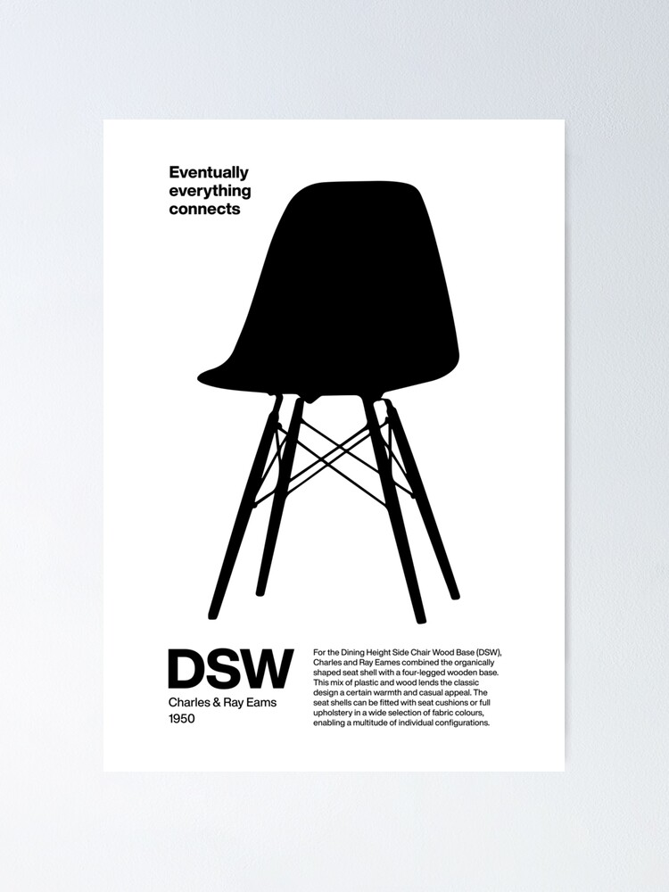 Alternate view of DSW Eams Chair Poster