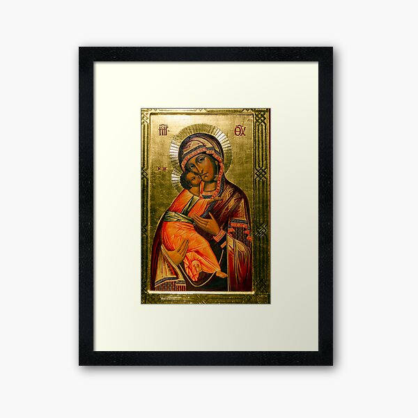 Our Lady of Vladimir Icon /Copy/ Framed Art Print