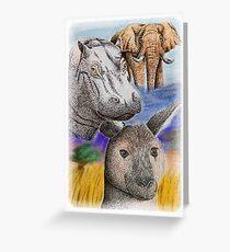 Wild Africa Greeting Card