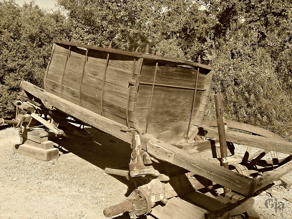 """ Water Wagon ""  Circa 1908 - 1930 by Gail Jones"