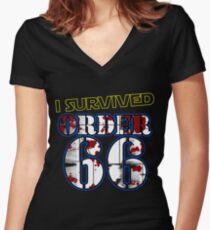 Jedi Survivor Women's Fitted V-Neck T-Shirt