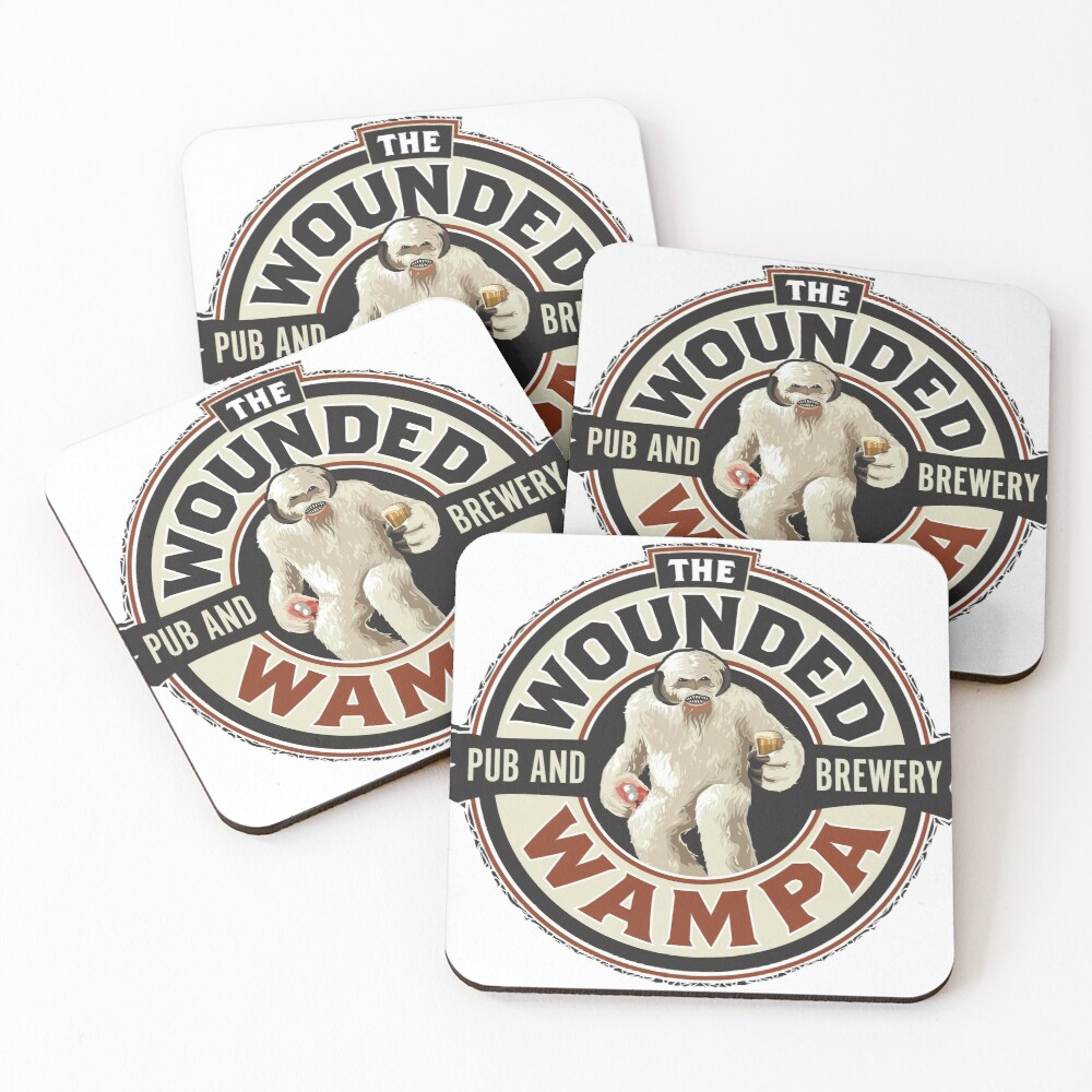 The Wounded Wampa Coasters (Set of 4)