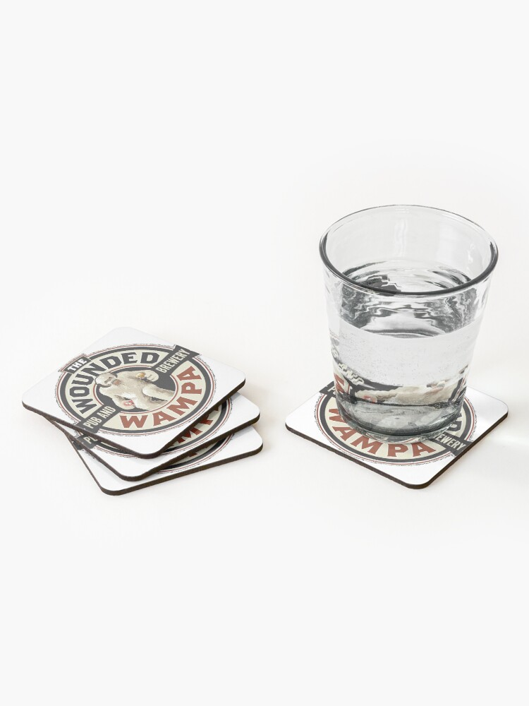 Alternate view of The Wounded Wampa Coasters (Set of 4)
