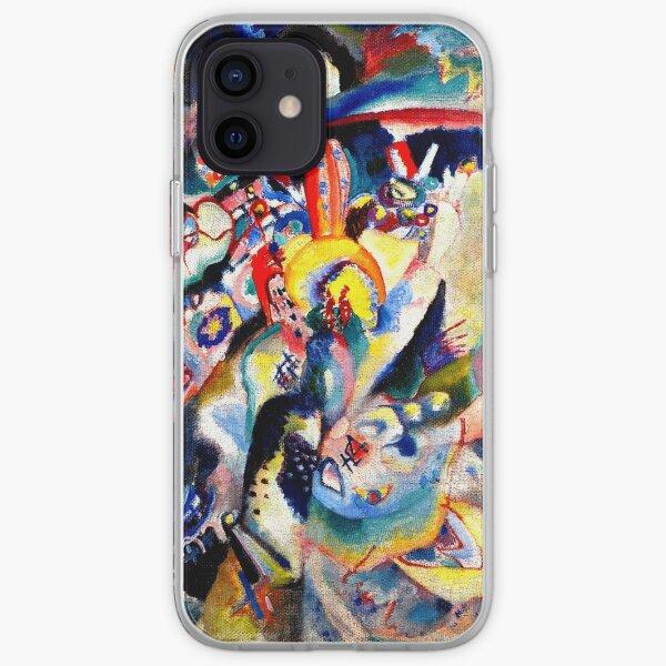 Kandinsky - Moscow II, abstract art iPhone Soft Case