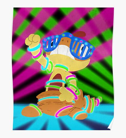 Rave Scraggy Poster