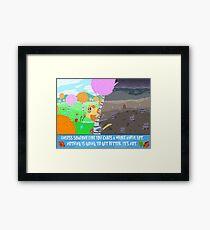 The Lorax Framed Print