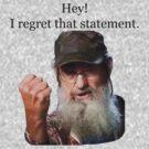 Si - Regret That Statement by riskeybr