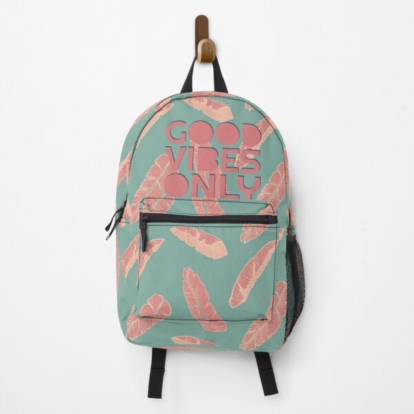 GOOD VIBES ONLY #redbubble #decor #buyart Backpack