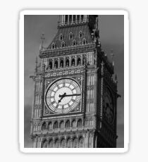 Big Ben 3 B&W Sticker