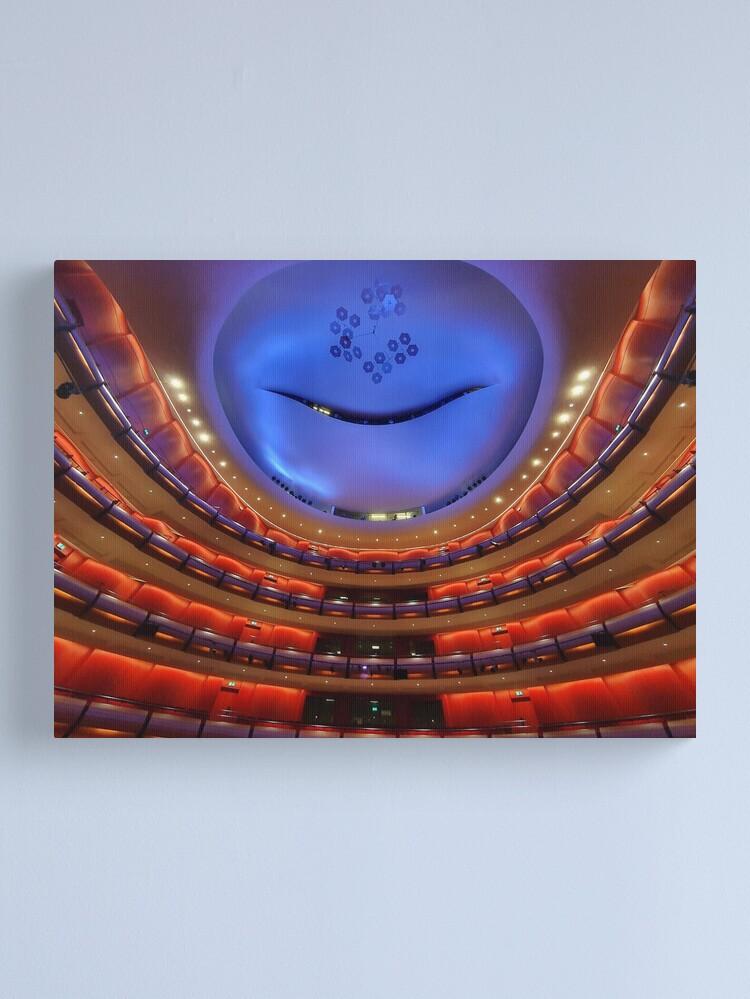 Alternate view of Greek National Opera  Canvas Print