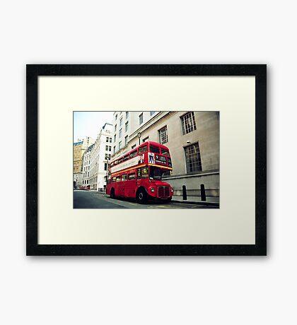 Routemaster Framed Print