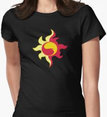 My little Pony - Sunset Shimmer Cutie Mark V3 Womens Fitted T-Shirt